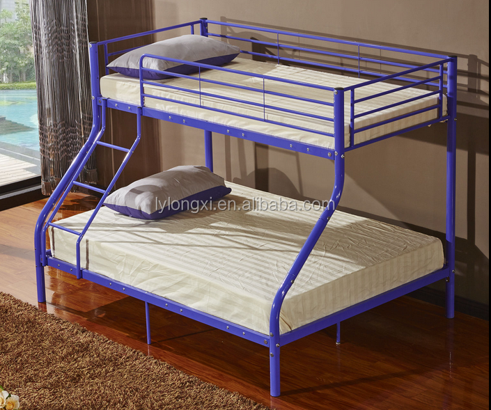 पेशेवर लोकप्रिय धातु नवीनतम रानी चारपाई बिस्तर