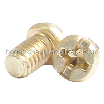 Electrical high quality through hole screw