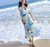women dresses 2017 summer Bohemian chiffon dress beach dress women