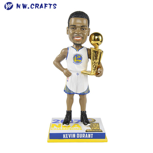 Custom Souvenir Kevin Durant Golden State Warriors 2017 Champions Bobblehead for Sale