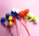 Earphone,Cheap price disposable earphone for tourist bus/Factory Aviation headset/Disposable in ear latest/ear phones