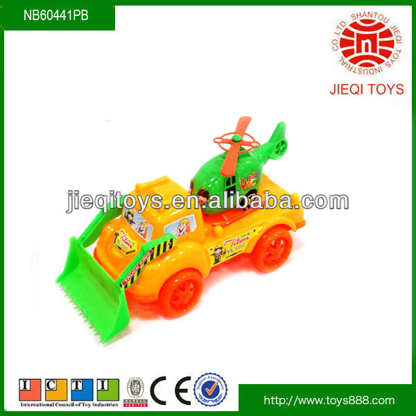2013 Lovely and colourful mini toy construction trucks with plane for kids