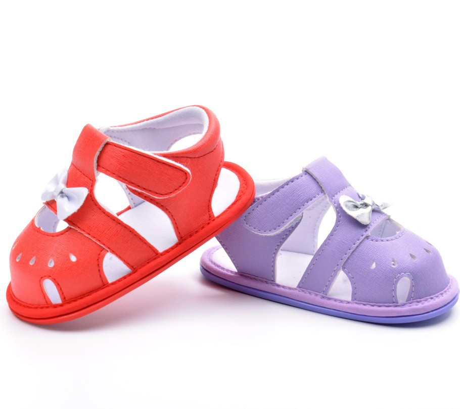 Baby Beach Sandals Soft Antiskid Mini Melissa Cute Lovely Bow Jelly Shoes Girl With High Quality