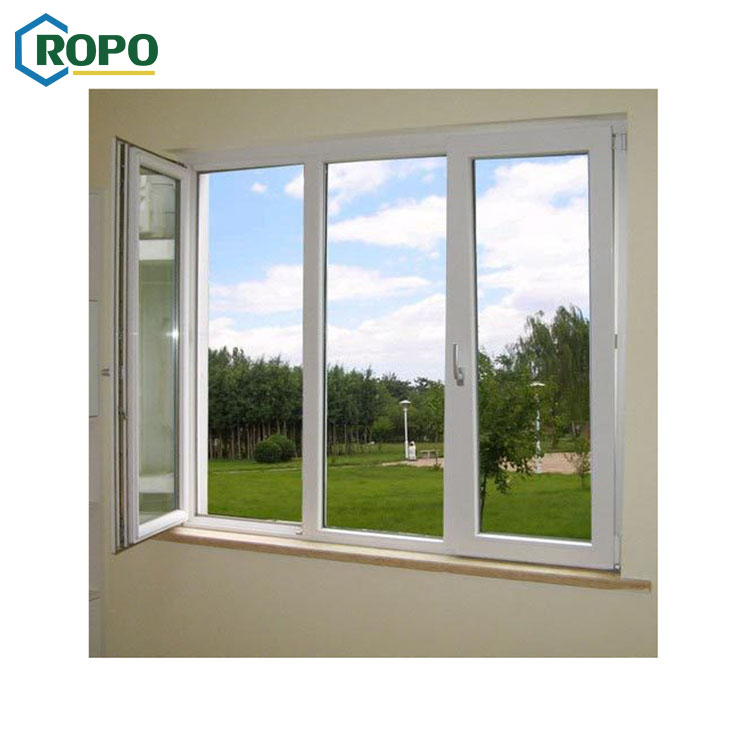 NZS4211 Glass Low Price Large Aluminum Triple Glaze Windows