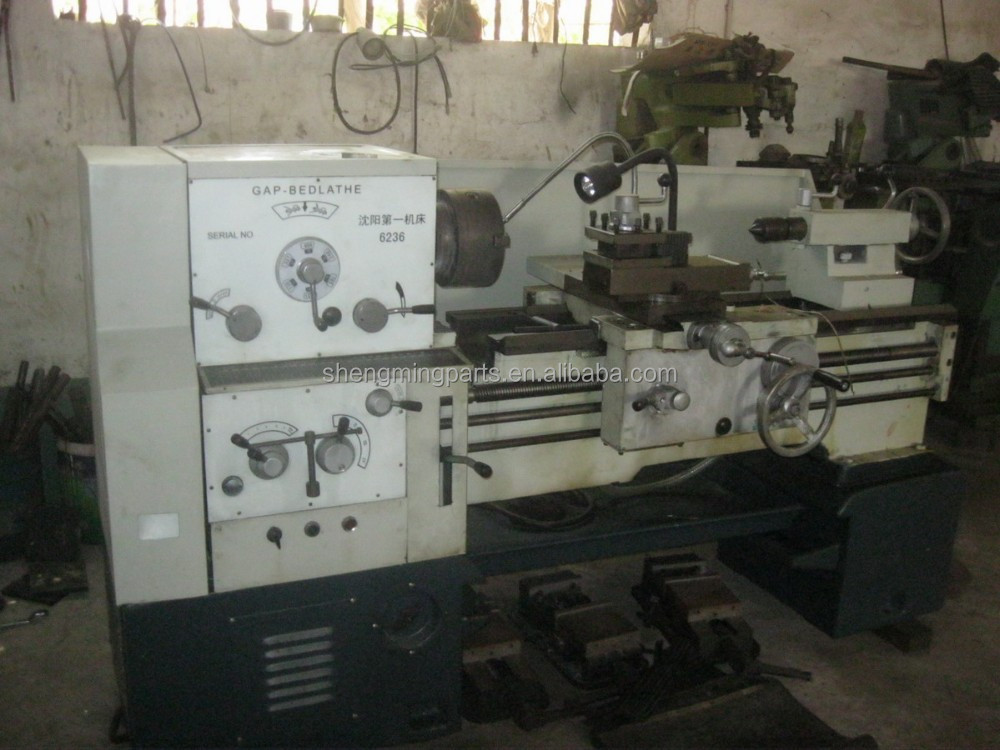 used lathe machine price C6236 1000mm