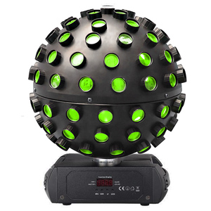 Worldwide shipping promotion price 5x18W RGBWA+UV 6in1 sharpy super led rotating magic ball beam effect light