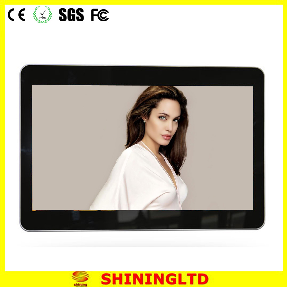 2016 indoor advertising lcd display screenwall-mounted lcd player SH3203HD