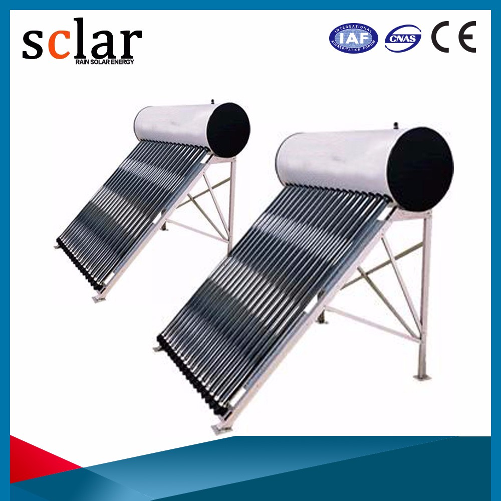 Integrated pressurized solar water heater/ 300Liters /Heat pipe