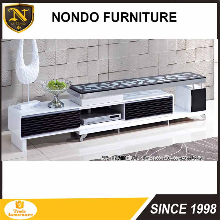Industrial Price Glass Table Top Tv Stand New Model Tv Cabinet