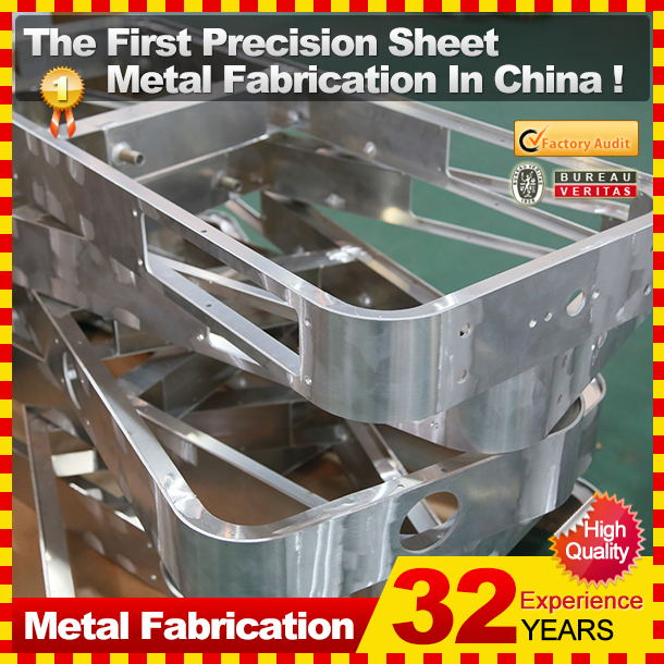 Custom CNC punching steel metal fabrication service