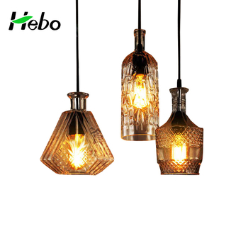 Murano Gl Pendant Lamp Parts Bottle Hanging Lights Architectural Stairs Lighting