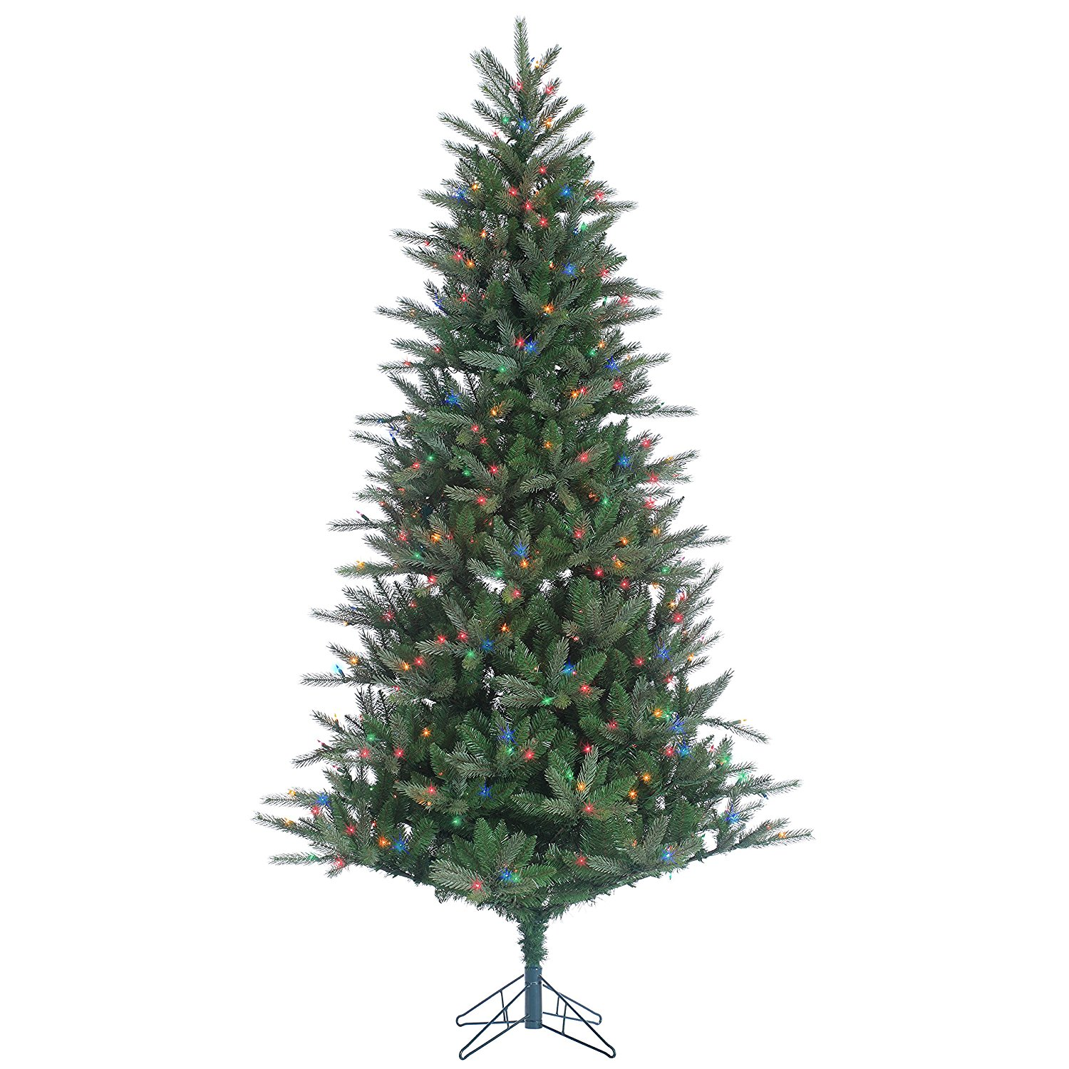 7.5 ft. Franklin Spruce Natural Cut Pre-lit Christmas Tree by Sterling Tree Company