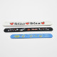 customized slap bracelet silicone