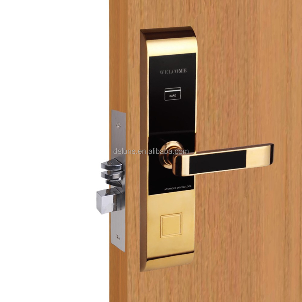 intelligent card lock card key lock card hotel lock