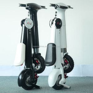 ET 350w folding electric bicycle scooter with CE/FCC/ROSH