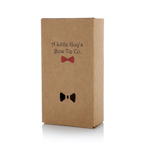 Drawer Type Gift Paper Packaging Wholesale Bow Tie Box