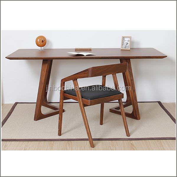 pequeo moq barato silla de comedor de madera maciza