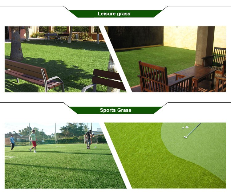 Garden decorative leisure grounds artificial grass with cheap price