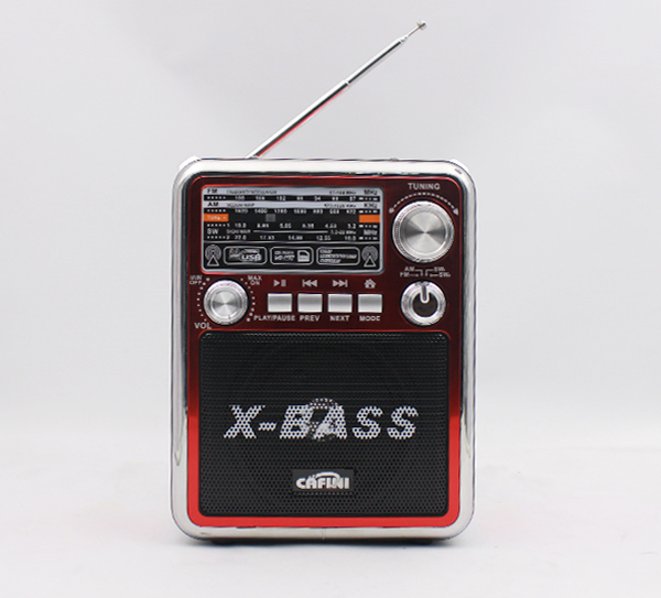 MINI USB/ AM/FM Radio Retro Radio with Built-in Stereo Speaker