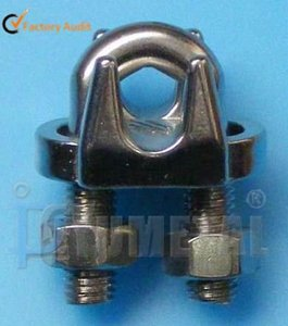 SS316 JIS Wire Rope Clip