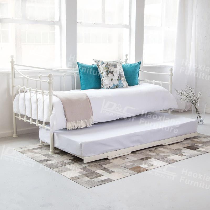 Hochwertige Moderne Metall Tagesbett Mit Trundle