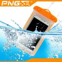 Factory price universal waterproof cell phone case pouch dry bag with luminous