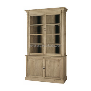Chinese Antique Reproduction Furniture French Style Bookself Pine ...