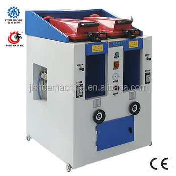 Lm-397 Double Head Cover Type Manual Shoe Sole Pressing Machine ...