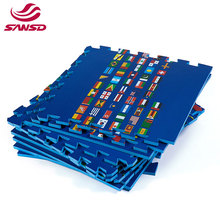 China supplier non toxic corrugated learning puzzle foam mats