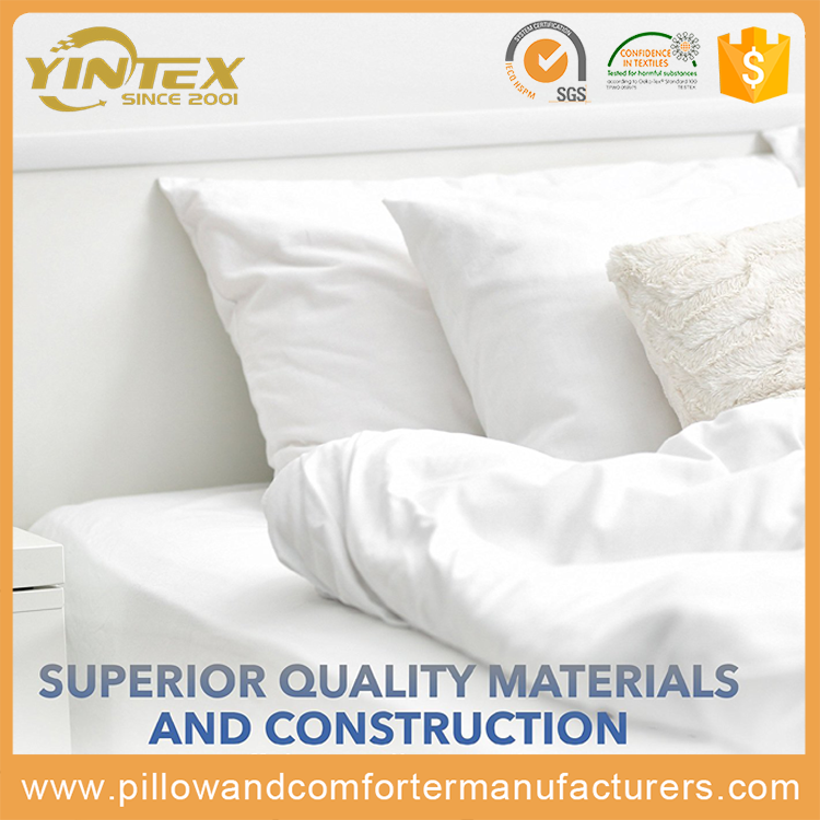 Nice Dream Standard/King/Queen polyester cotton cover inflatable comfortable hotel or hospital cheap polyester pillow