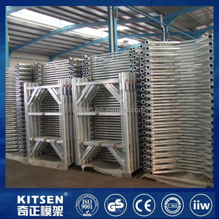 10k System Aluminum Frame Fast Shoring Frames With Maximum Strength ...