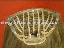 Clip In Human Remy Hair Of Half Wigs
