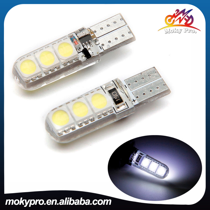 T10 led bulb 5050 6led 2sides reading light high bright for motorcycle and <strong>auto</strong>