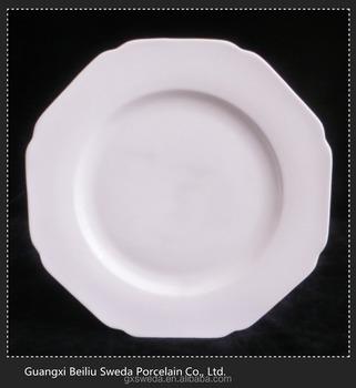 Bulk White Wavy 10.5 Inch Dinner Plates For Weddings - Buy Dinner ...