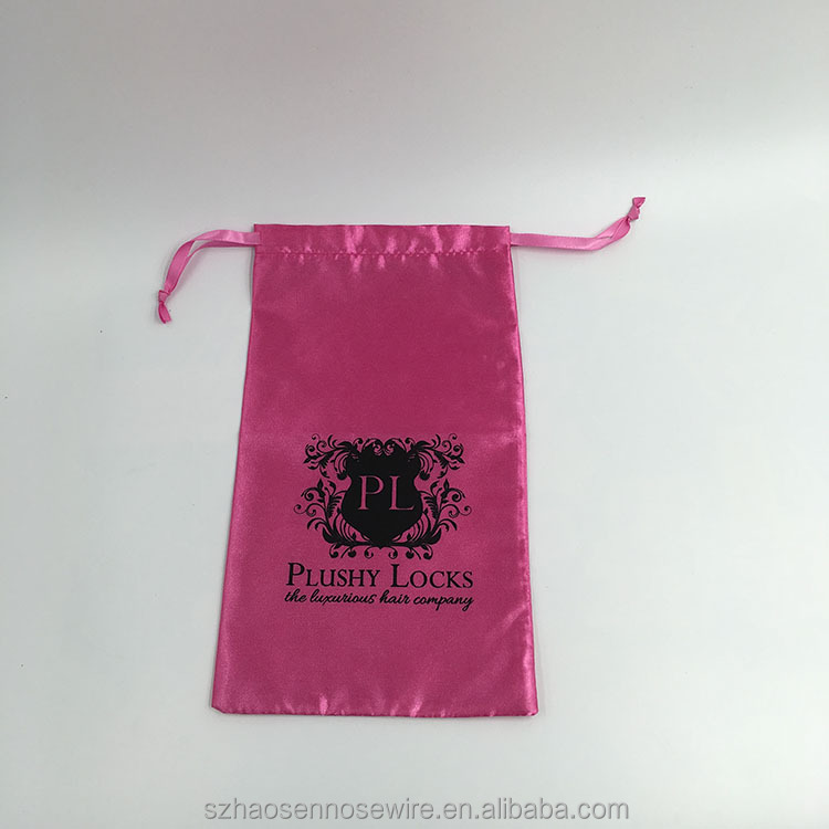 Custom Retail Personalized Satin Bag For Candy
