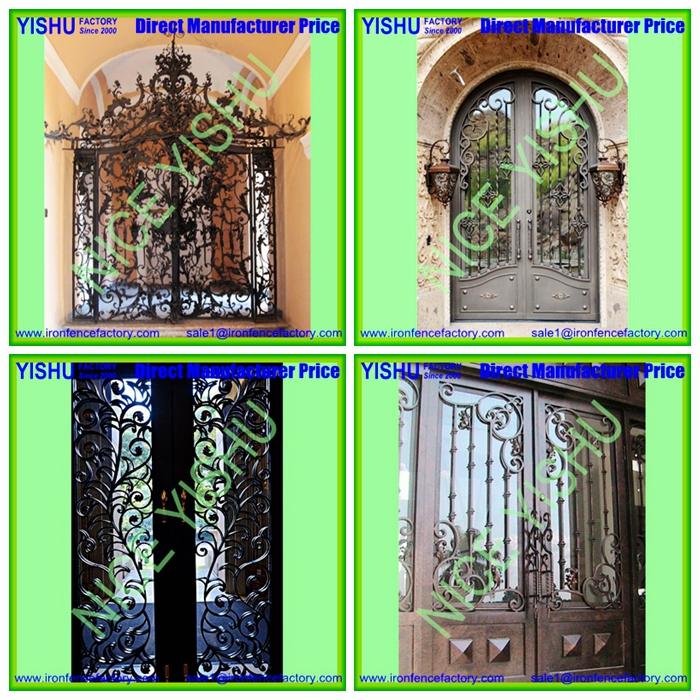 Forged Iron Door And Main Entrance Doors Sale Wrought
