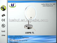 high quality led light magnifying stained glass mirror frames