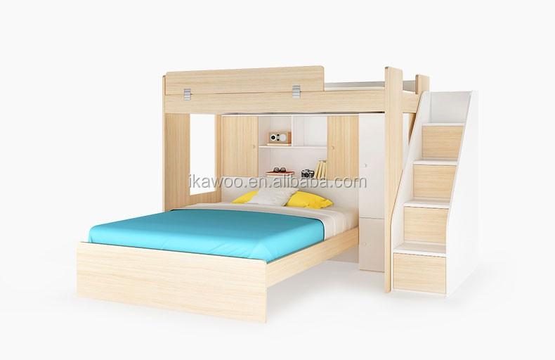 Etagenbett Schubladen Treppe : Treppe etagenbett mit erhöhten panel schublade und lagerung buy
