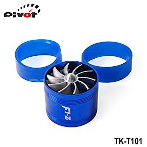 Luxbody(TM) Turbo supercharger SinglesideFan (Performance Force Flow Turbine Fuel Saver) TK-T101