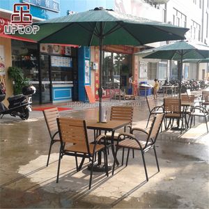 (SP-CS273) Outdoor Plastic Public Garden Furniture with Chair and Table