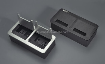 Practical Design Desktop USB brushed socket