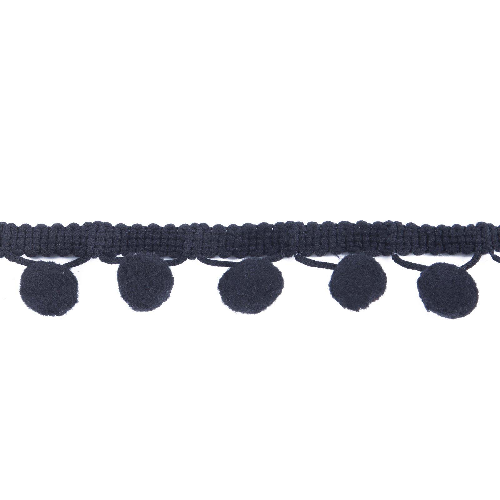 Pom Ball Size 12mm,Aqua XiXiboutique 18 Yards Ball Fringe Pom Pom Trim Ribbon Sewing
