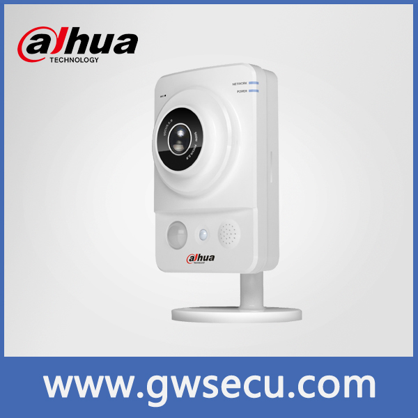 Economical dahua 1.3mp 720p HD POE Network CCTV Camera; dahua IPC-K100, onvif poe IR Baby-sitter camera