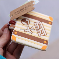 Plane card
