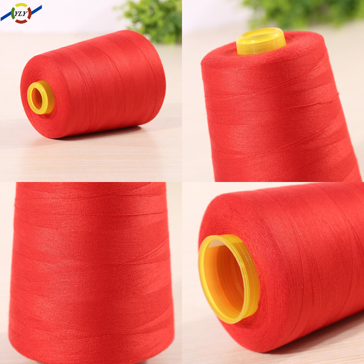 China RawMaterial Wholesale Price 100% Spun Cone 40/2 Thread Cheap Polyester Manufacturer Industrial Sewing Thread