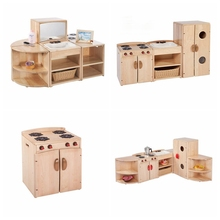 Professional supplier of kids educational furniture toys childrens wooden kitchen playsets