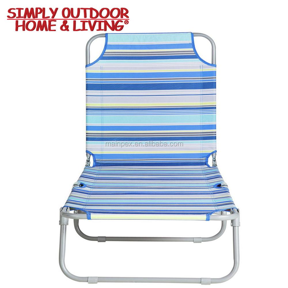 Moderno De Muebles Al Aire Libre Plegable Silla De Acero Simple Playa Tumbona Buy Muebles De Exterior,Silla De Acero,Tumbona Product on