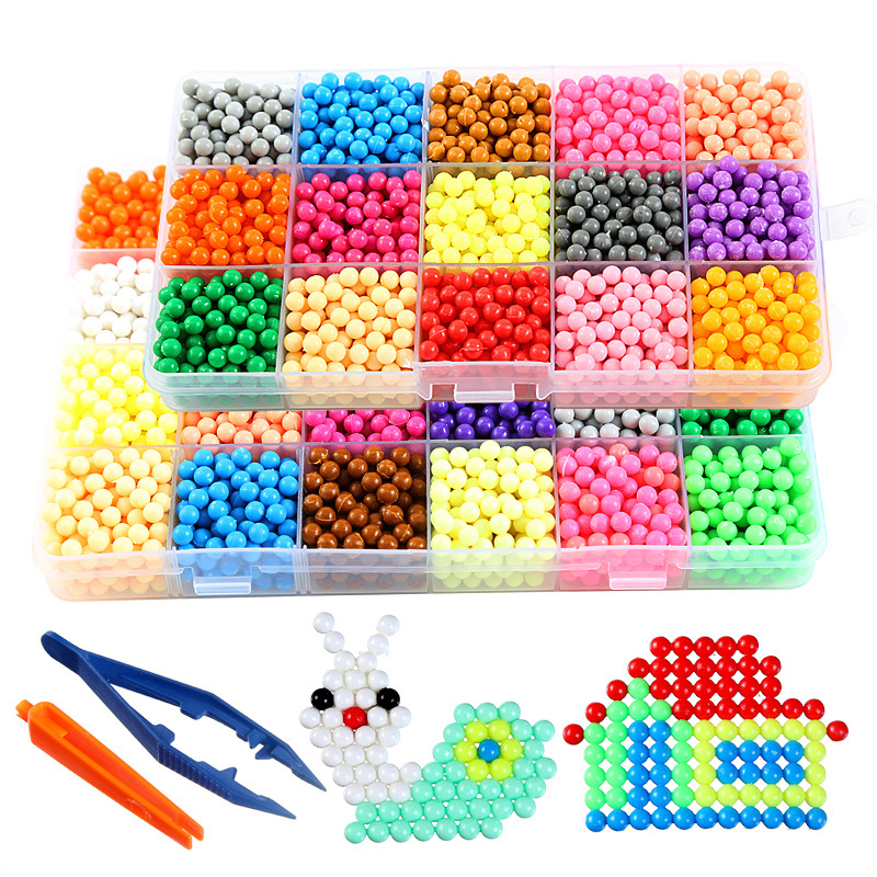 Yiwu Fashion Plastic 5mm Mini Diy Beads Arts And Crafts Water Fuse Hama  Perler Beads For Kids - Buy Diy Beads,Yiwu Diy Beads,Yiwu Plastic Diy Beads