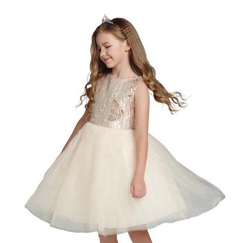 De Moda Modelo Formal De Los Niños Vestido De Fiesta Para 2 12 Años