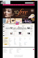 Cosmetic Online Shopping Store with sustainable after-sale service Secured Various Payment Channel